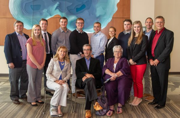 featured scholarship recipients and funders